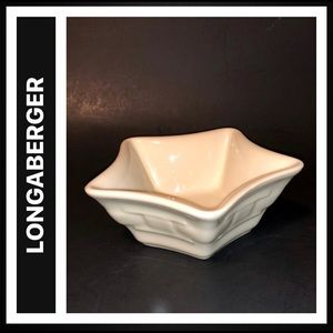 Longaberger Woven Traditions Small Star Dish
